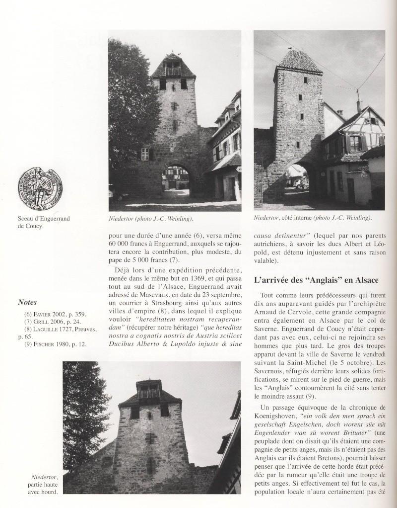 """Le sac de Wangen par les """"Anglais """" en 1375 raconté par Jean-Claude Weinling Image026"""