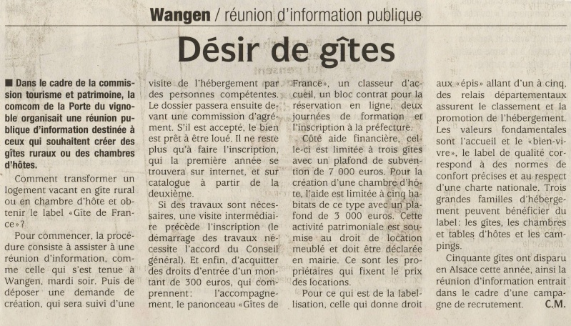 """Réunion publique """"Gîte de France"""" le mardi 16 mars 2010 à Wangen Image042"""