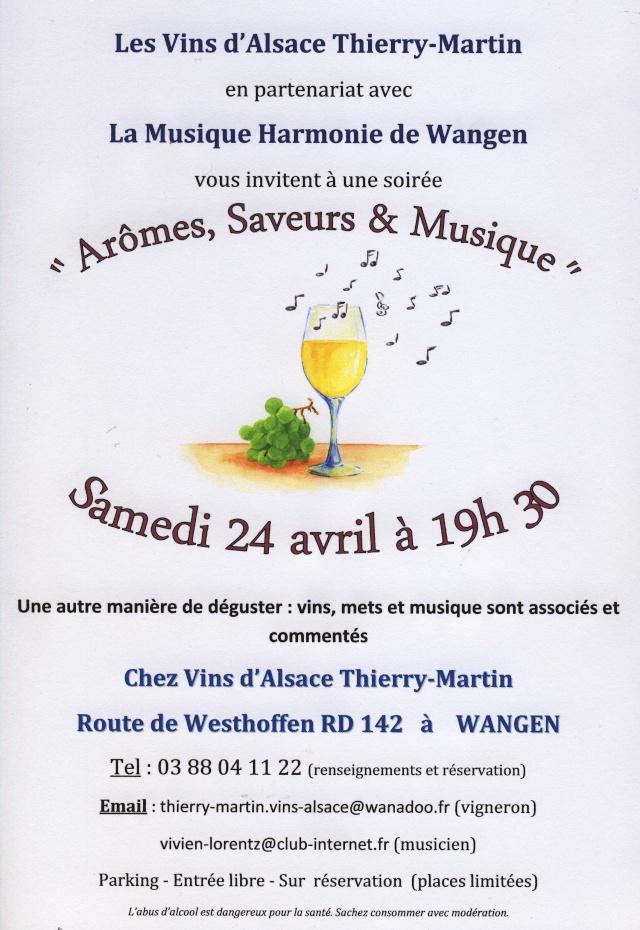 Arômes, Saveurs et Musique le samedi 24 avril 2010 chez Thierry-Martin à Wangen Image055