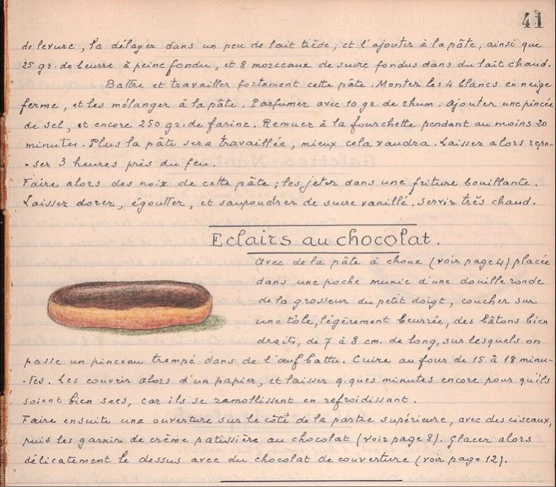 Les Cahiers de Cuisine du Général Strohl Strohl13