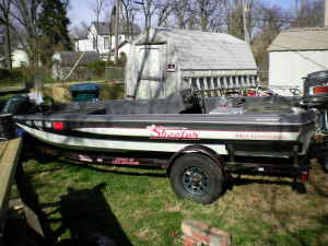 1985 Skeeter Bass Boat for sale 3k13md11