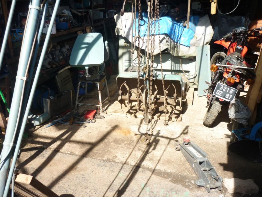 restauration - Restoration d'un Rotovator P1190990