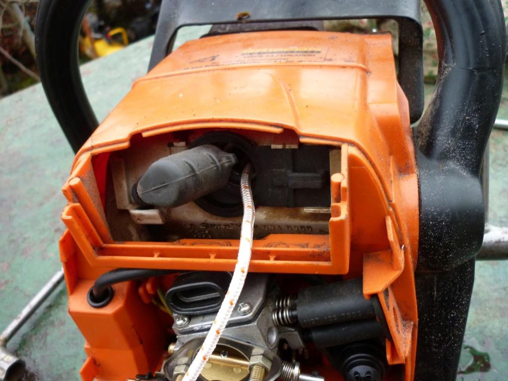Entretien tronçonneuse Sthil MS 390 P1210410