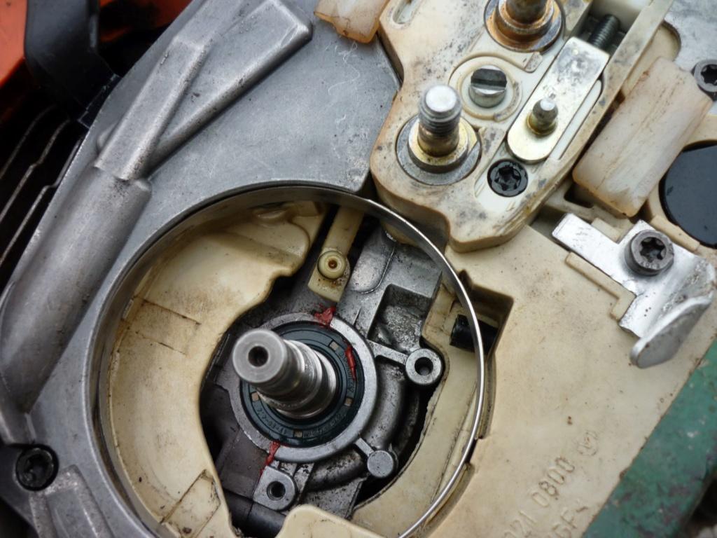 Entretien tronçonneuse Sthil MS 390 P1210422