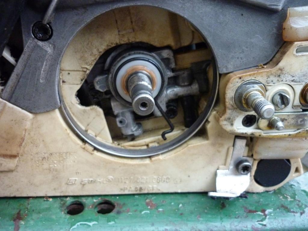 Entretien tronçonneuse Sthil MS 390 P1210445