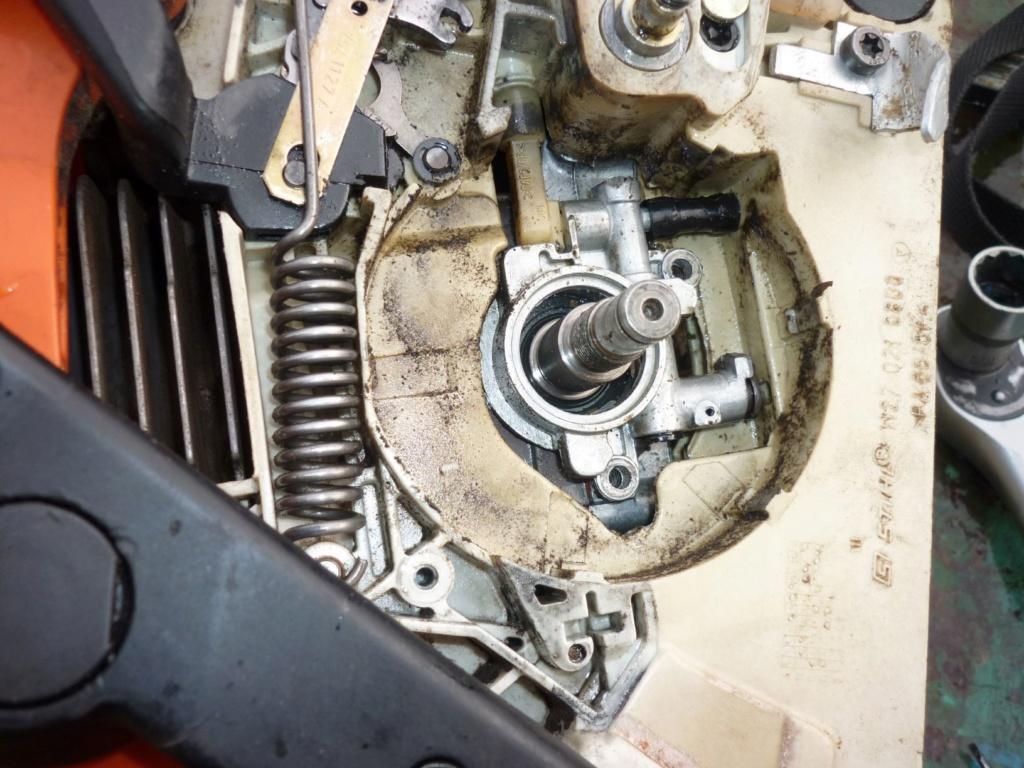 Entretien tronçonneuse Sthil MS 390 P1210520