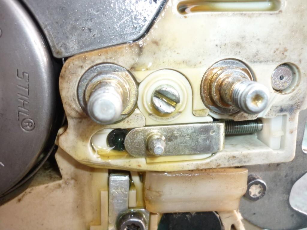 Entretien tronçonneuse Sthil MS 390 P1210523