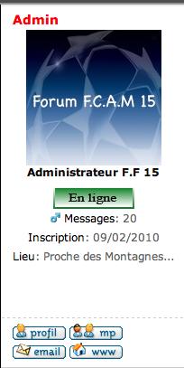 Centrer la profil dans la colonne (Forum PunBB) Captur18