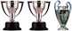 1 Champions + 2 Ligas