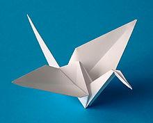 L'origami, l'art de plier du papier Grue10