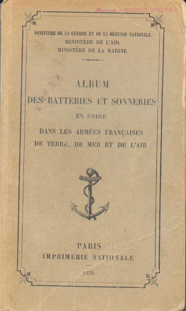 [La musique dans la Marine] Les sonneries - Page 2 Clairo13