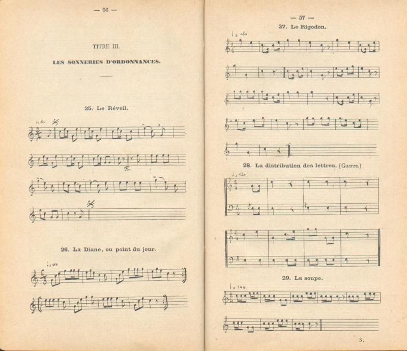 [La musique dans la Marine] Les sonneries - Page 2 Clairo14