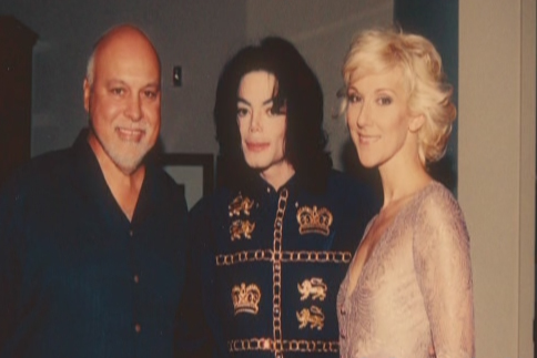 michael jackson and vips - Pagina 2 Celine10