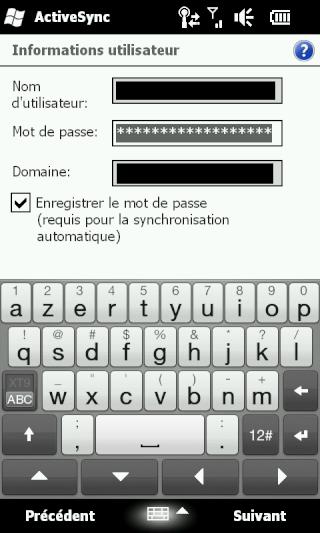 [HD2] - WM 6.5 : Problème de synchro avec Excahnge 2007... Screen14