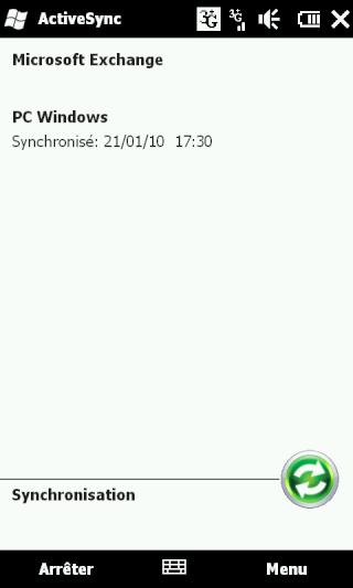 [HD2] - WM 6.5 : Problème de synchro avec Excahnge 2007... Screen25