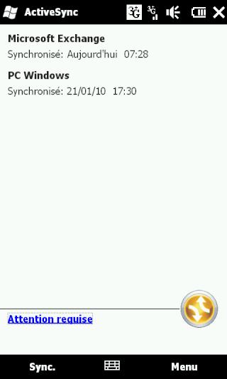 [HD2] - WM 6.5 : Problème de synchro avec Excahnge 2007... Screen27