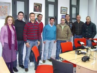 BAJO PALIO. Programa 3. Directores y Representantes de las Bandas de Nuestra Semana Santa.03-03-2010 Img_4810