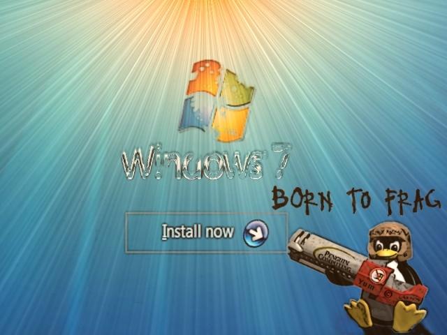Fond écran, Tux détruit Windows  Tux-in11