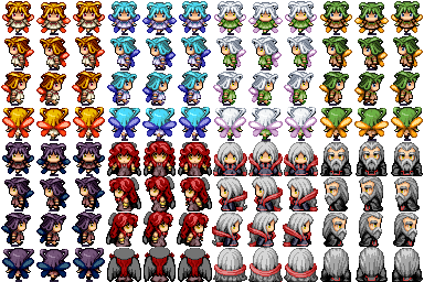 Divers Characters Spirit10