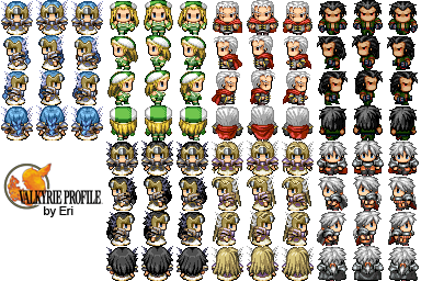 Divers Characters Valkyi11