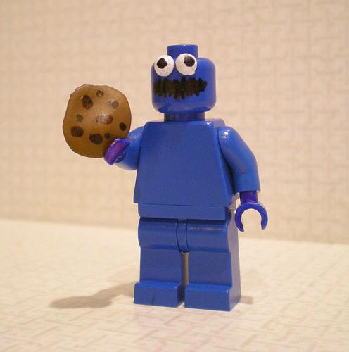 Cookie Monster MiniFig Custom made Cookie10