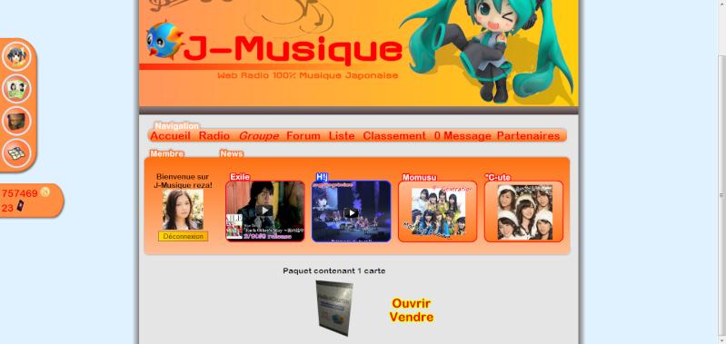 Jeu en ligne sur le H!P (sur J-Musique !) Item10