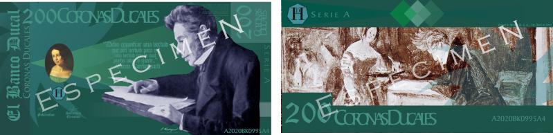 Serie A de los Billetes de la Corona Ducal (ABRIL, 2010) Muestr12
