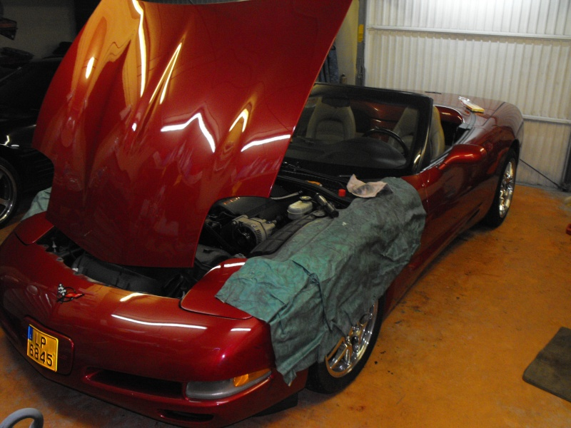 L'histoire hors du commun de ma corvette. Moteur10