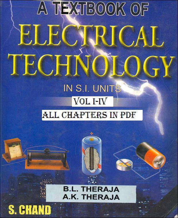 A Textbook of Electrical Technology by B.L. & A.K Theraja (All 4 Vol) Vi1imc10