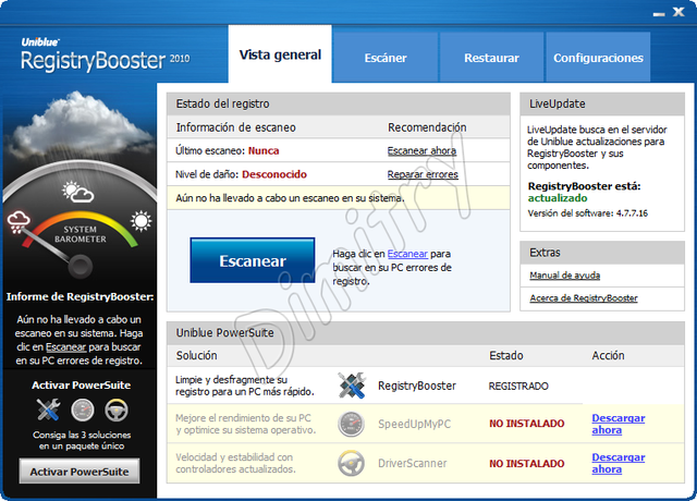 RegistryBooster 2010 4.7.7.16 Regist10