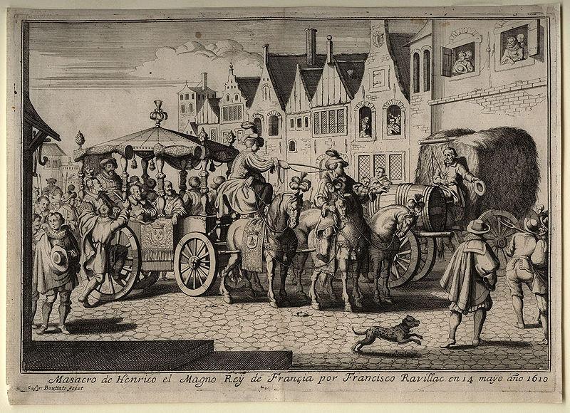 La mort d'Henri IV, il y a 400 ans, n'a jamais été vraiment élucidée ! 800px-10