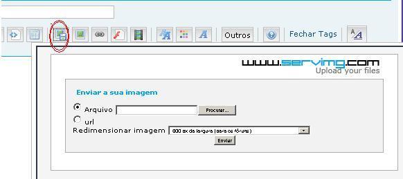 COMO POSTAR IMAGENS Alojar10