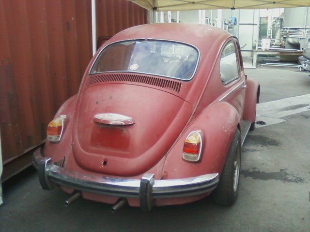 1968 Build. Cali bug project.. Rear10