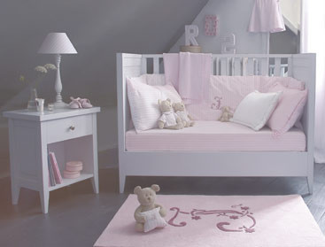Chambre Fille Rose Pale Et Gris