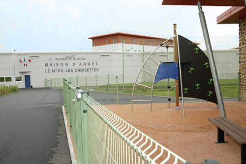 Etablissement Pénitentiaire - Maison d'Arrêt / Le Mans - Les Croisettes. Lemans10