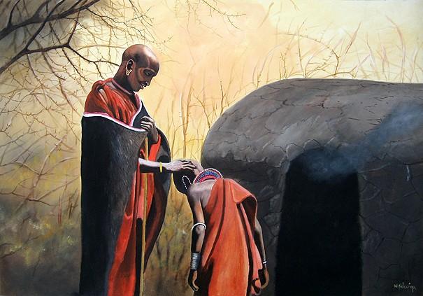 peintures d'Afrique - Page 2 Ndwiga10