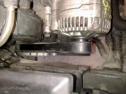 TUTO remplacement courroie alternateur et DA golf 3 gtd moteur AAZ sans tendeur de courroie 8_cour10