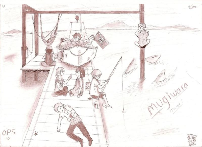 Battle dessin One Piece ( les dessins ) Scan_111