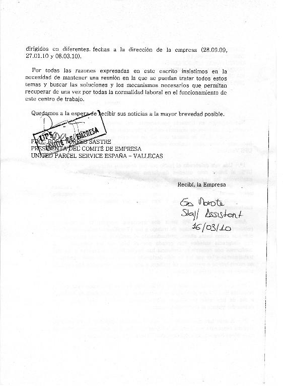 DESPIDOS UPS VALLECAS Img06810