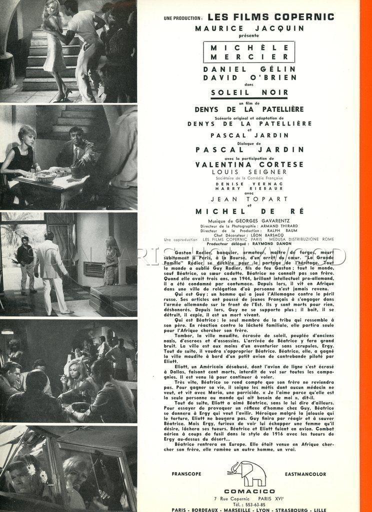 Soleil Noir - 1966 - Denys de La Patellière --10