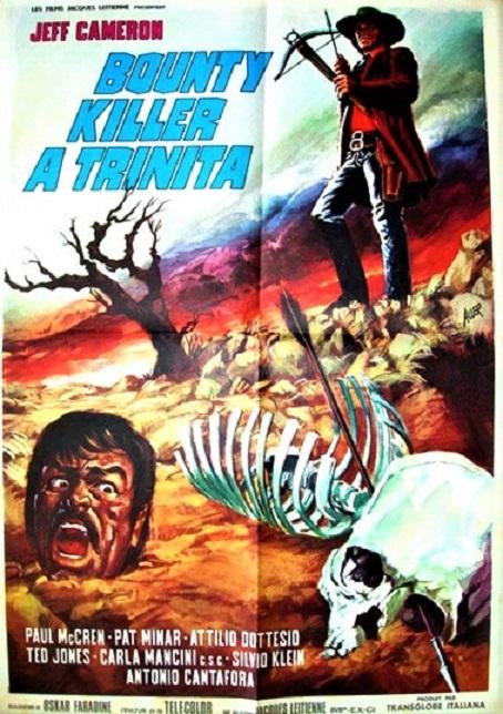 Un bounty Killer à Trinita (idem) d'Oscar Santaniello avec Jeff Cameron, 1972. 01210