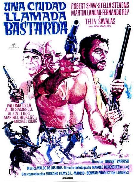 Les brutes dans la ville - A Town Called Bastard - 1971 -  Robert Parrish 0711