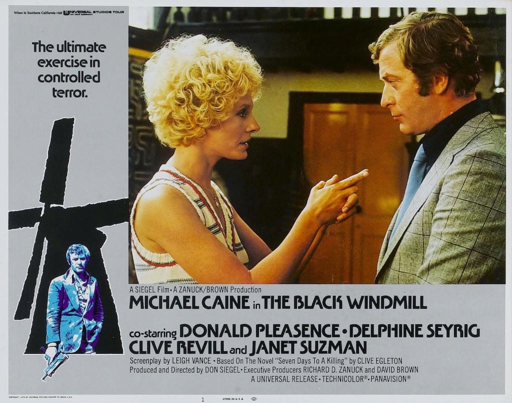 Contre une poignée de diamants- The Black Windmill- 1974- Don Siegel 0810