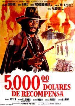 Cinco mil dolares de recompensa - 1974 - Jorge Fons 11731810
