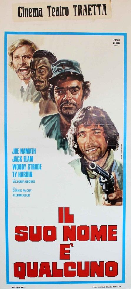The Last Rebel. Il suo nome è Qualcuno. 1970. Denys McCoy. (Inédit) 14523810