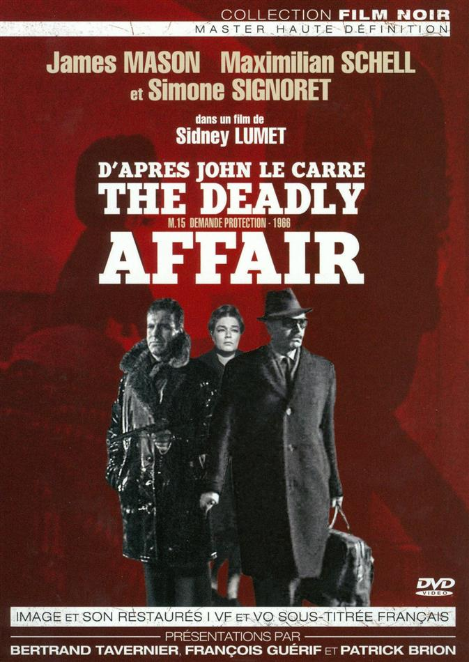 MI5 demande protection. The Deadly Affair. 1966.  Sidney Lumet. 15988811