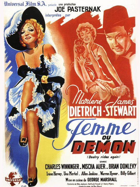 Femme ou Démon. Destry Rides Again. 1939. George Marshall. 17686910