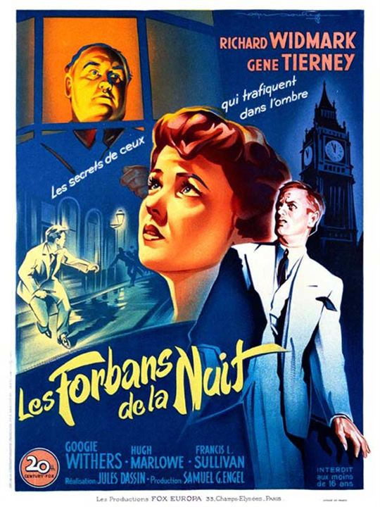 Les Forbans de la nuit. Night and the City. 1950. Jules Dassin. 18456510