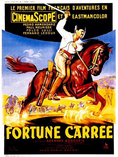 Fortune Carrée - 1955 - Bernard Borderie  19815510