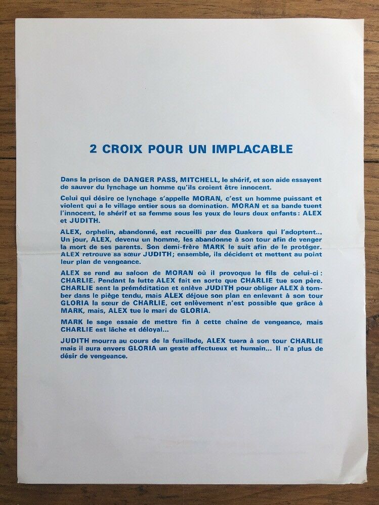 2 croix pour un implacable - Due croci a Danger Pass - 1967 - Rafael Romero Marchent 2-croi10